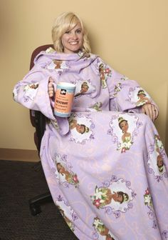 For copyright reasons this is not a Snuggie. But make your own Snuggie-esque backwards robe with 3 yards of fleece and this simple pattern.