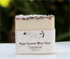 Coconut Scented Soap Made with Coconut Milk