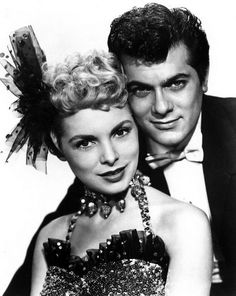 Janet Leigh & Tony Curtis The Great Houdini and his Rosabelle. See it. Leigh and Curtis sizzle on screen.