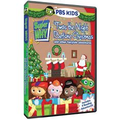 Super Why! 'Twas the Night Before Christmas and Other Fairytale Adventures DVD from PBS Kids Shop
