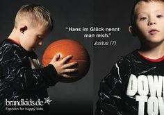 circus mag: brandkids.com starts a wonderful fashion campagne with downsyndrom models http://bit.ly/1PC9oVL