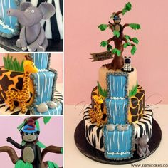 Jungle Party  on Cake Central