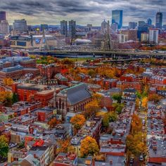Boston in the fall. Check out Southwest's Fall Fare Sale and book your trip!