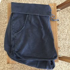Free People Slouch Shorts FP slouch shorts with a drawstring and pockets Free People Shorts