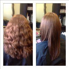 Mangotion S Is A Non Permanent Hair Straightening Cream