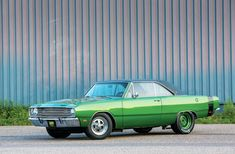 Ron Haglund's 1969 Dodge Dart Swinger 340 isn't hard to miss thanks to it's green hue, but it's the speed it can gather that will really capture your attention.
