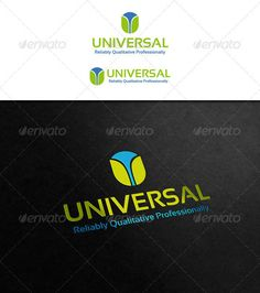 Universal Logo ¨C Letter Logo ¨C Great to used in banks, insurance company, trading group, investment company, logistics, transporta