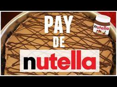 Pay de Nutella SIN HORNO + ¡Sorpresa! - YouTube