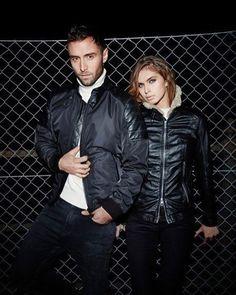 @manszelmerlow's jackets for men and women in collaboration with @jofamafashion ! #MånsZelmerlöw #Månsters #Jofama #Sweden #Fashion #Jacket