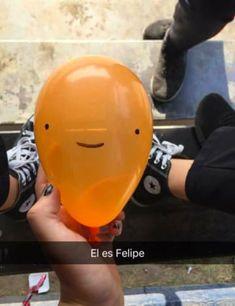 La amistad de esta chica con un globo se convirtió en un dramón digno de la 'Rosa de Guadalupe' One Punch Man Anime, Meme Stickers, Spanish Memes, Fb Memes, Gumball, Mood Pics, Reaction Pictures, Just Do It, Funny Photos