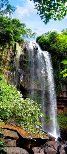 Chom Bok Waterfall , Cambodia | UFOREA.org | Travel with heart.
