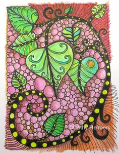 love the colors in this one by Carol Ohl