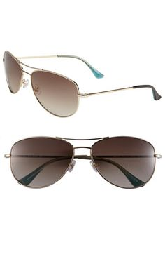 kate spade new york 'ally' aviator sunglasses available at Nordstrom