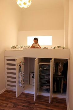 Camerette sotto armadio