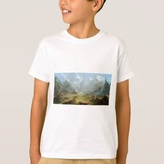 Mountains And Snow T-Shirt - spring gifts beautiful diy spring time new year