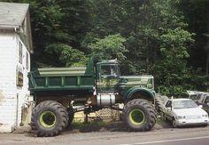 KW monster dump truck