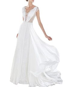Dress Coming Lace Appliques Chiffon Summer Beach Wedding ... https://www.amazon.com/dp/B073TJ5M1V/ref=cm_sw_r_pi_dp_x_asIAzbWJM2YY4