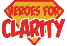 When you donate $25 or more, we will send you a Heroes for Clarity t-shirt to express our gratitude and to make you an official hero for all kids!