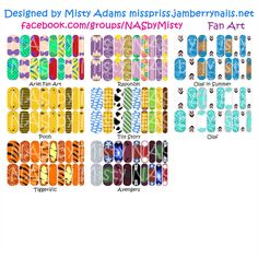 Custom designed Disney inspired Jamberry nail wraps. Available exclusively through me at facebook.com/groups/NASbyMisty