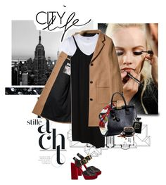"""City Life"" by randomlife ❤ liked on Polyvore featuring GINTA, WALL, RE/DONE, Prada, Boohoo, Dolce&Gabbana, Chanel and Forum"