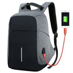 BBirds USB Charging Men 15 inch Laptop Backpacks Waterproof Men's Business Bag A Waterproof Laptop Backpack, Laptop Bag, Anti Theft Backpack, Best Friend Gifts, Travel Backpack, School Bags, Backpacks, Clothing, Monitor