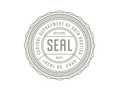 seal for authenticity, mimicking language often found on wine bottles