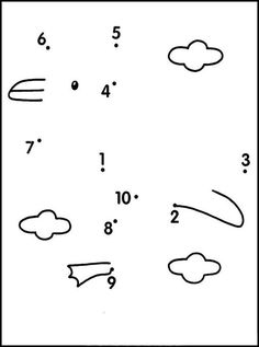 Connect Numbers To Make A Picture Printables For Kids