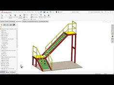 SolidWorks Steel structures - YouTube