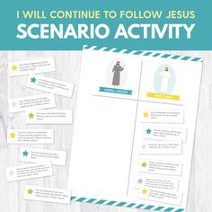 Primary 2 Lesson 4: I Chose to Follow Jesus Christ