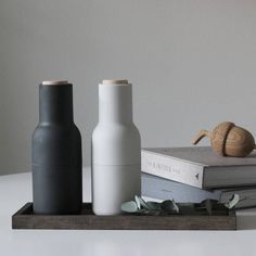 Menu Bottle Salt Pepper Grinders in stock and ready for fast delivery // FREE shipping online! #styling #stylist #urbancouturedesigns #minimalism #interiorinspo #imageviapinterest