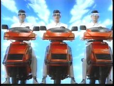 Devo commercial for Honda Scooters