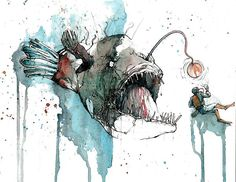 Angler Fish by Michael Pattison