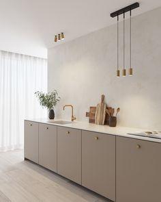 Home Decor Kitchen, Interior Design Kitchen, Home Kitchens, Küchen Design, House Design, Casa Milano, Style Deco, Scandinavian Kitchen, Cuisines Design