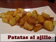 PATATAS AL AJILLO, RECETA FÁCIL Y RAPIDA - YouTube