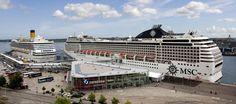 Die MSC Musica legt ebenfalls am Kieler Ostseekai an, um Passagiere an Bord zu nehmen. Haben Sie eine Kreuzfahrt auf dem Schiff gebucht, können Sie bei Port Parking schnell, günstig und online einen Parkplatz bei uns reservieren.