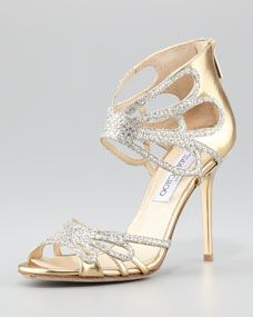 Melody Cutout Glitter Sandal
