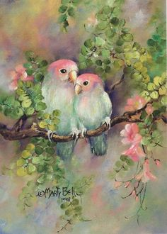 """""""The Love Birds"""" by Marty bell"""