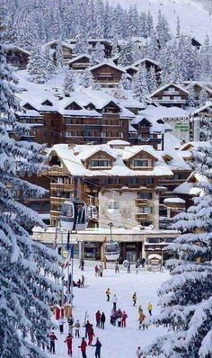 ~ThunderBug~ Ski resort in France near the French-Swiss border