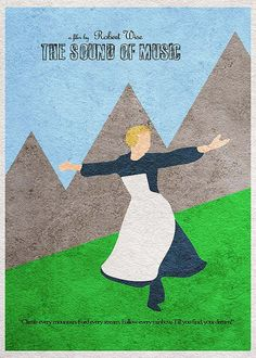 The Sound of Music Minimalist Alternative Movie by CelluloidJunkie