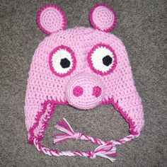 Peppa Pig... Free crochet pattern