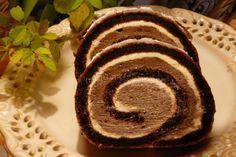 Zamatová roláda Cookie Dough Brownies, Brownie Cake, Swiss Roll Cakes, Albanian Recipes, Cake Roll Recipes, Czech Recipes, Rolls Recipe, Gluten Free Baking, Christmas Baking
