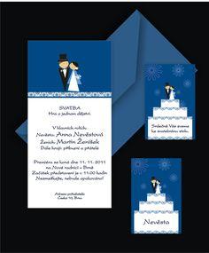 Svatební oznámení č.1002 - barevné - Svatba dekor