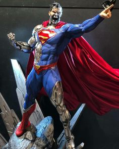 Cvlt of the Pop Cvlture — Cyborg Superman scale statue by Prime 1 Studio. Cyborg Superman, Superman 1, Marvel Actors, Marvel Art, Thor Marvel, Dc Comics Art, Marvel Comics, Comic Books Art, Comic Art