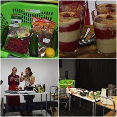#essentiae zu gast bei der #fs1studioküche mit einer #zucchinicreme und geschichteter #himbeer #tofucreme Tofu, Zucchini, Creme, Raspberries, Foods, Squashes