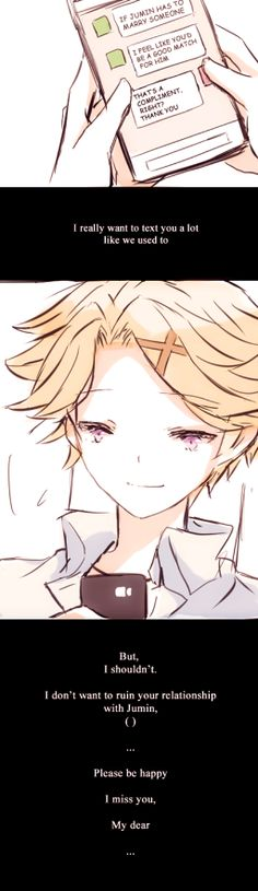 MM: Memory by Tetonori ( Yoosung - MC )  Yoosung I'm so sorry. T-T almost done with his route too
