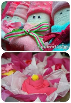 60 hand made baby shower gifts