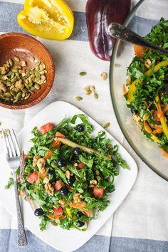 Summer Superfood Kale Salad - Vitamin Sunshine