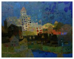 Mark English - Contemporary Artist - Landscape 28