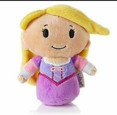 It was awesome to receive Rapunzel from Tangled! She fits perfectly in our #disneyprincess #ittybitty collection! I get mine from my local @Hallmark