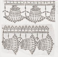 Grace y todo en Crochet: Ring the bells this Christmas... Que suenen las campanas esta Navidad!